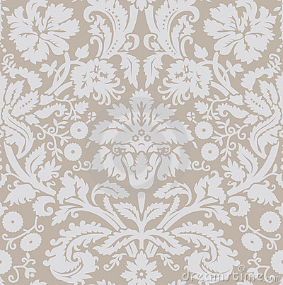 Wallpaper gray beige