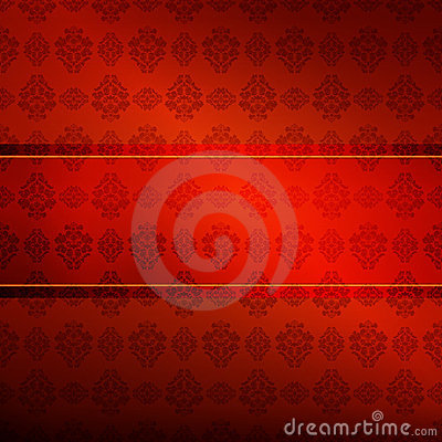 Wallpaper with repeating pattern