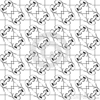 Wallpaper with seamless repeating pattern