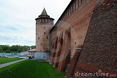 Walls of the ancient Kremlin