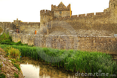 Walls of Cahir castle