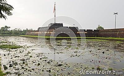 Walls of the Citadel in Hue