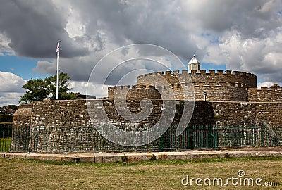 Walls of Deal Castle