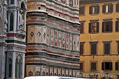 Walls of the Duomo, Florence, Italy