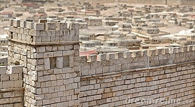 The Walls of Jerusalem Editorial Stock Photo