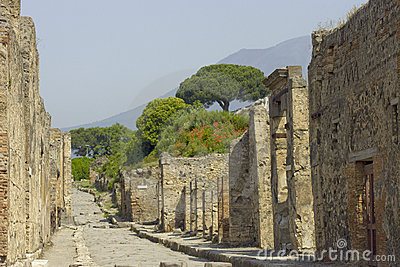 Walls of Pompeii