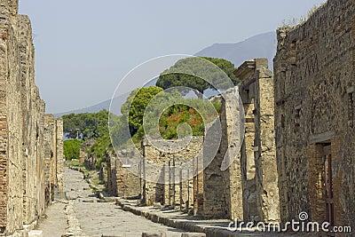 Walls of Pompeii