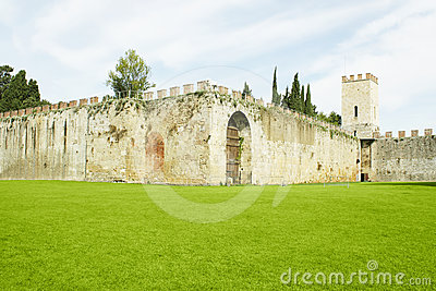 Walls surrounding the Field of Miracles