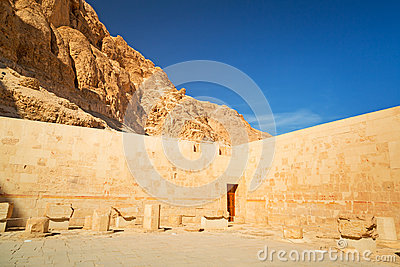 Walls of the Temple of Queen Hatshepsut