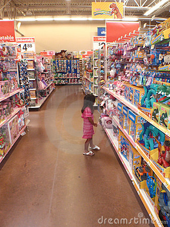 Walmart Editorial Stock Image