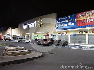 Walmart in Cuautitlan Izcalli in Mexico Editorial Stock Photo
