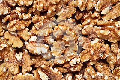 Walnut Background Royalty Free Stock Photos - Image: 27835048