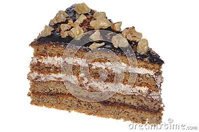 Walnut cake calorie bomb