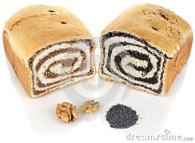Walnut and Poppy Cake