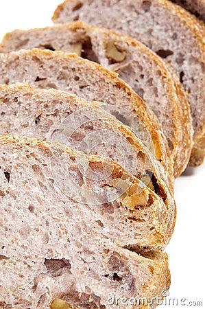 Walnuts bread