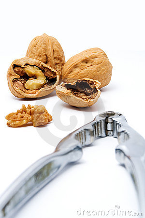 Walnuts and Nut Cracker
