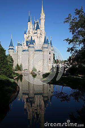 Walt Disney Castle at Magic Kingdom Editorial Photography