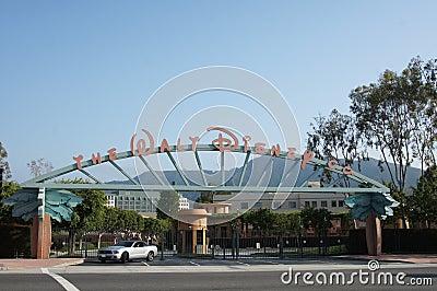 The Walt Disney Co. Studios Editorial Stock Image