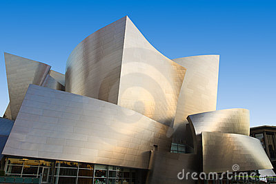 Walt Disney Concert Hall Editorial Image
