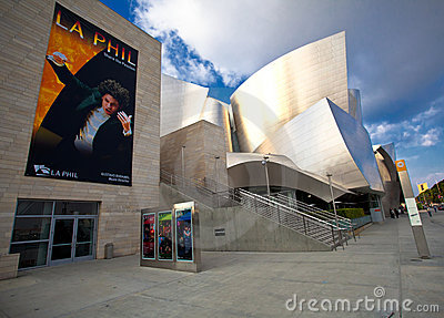 Walt Disney Concert Hall Editorial Photo