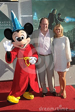 Walt Disney,John Turtletaub Editorial Stock Photo