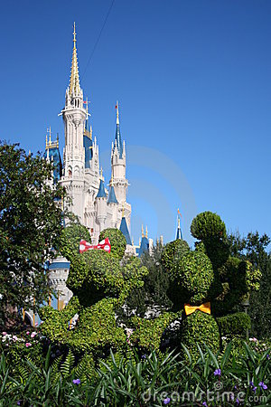 Walt Disney Magic Kingdom Editorial Stock Image