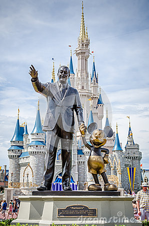 Walt Disney And Mickey Mouse Editorial Stock Photo Image