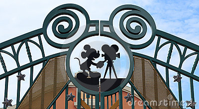 Walt Disney Studios, Paris Editorial Photo
