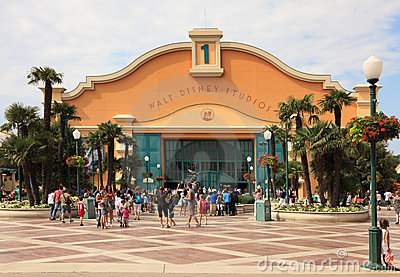 Walt Disney Studios-Paris Editorial Stock Photo