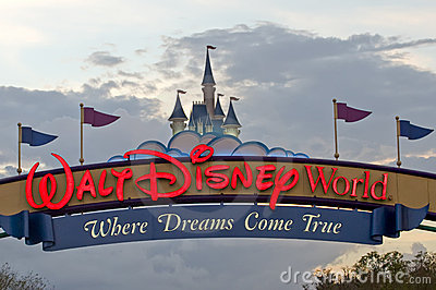 Walt Disney World Editorial Stock Photo