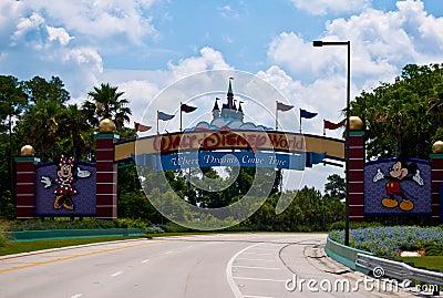 Walt Disney World Editorial Stock Image