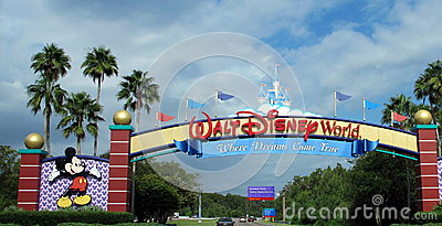Walt Disney World Editorial Photography