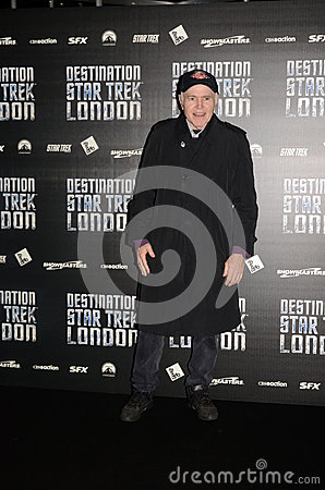 Walter Koenig At Destination Star Trek In  London Docklands 19th Editorial Stock Image