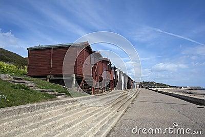 Walton-на- фронте моря Naze, Essex, Англия