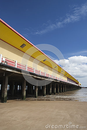 Walton Pier, Walton-on-the-Naze, Essex, England