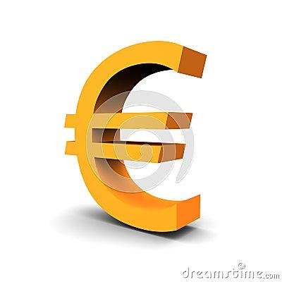 Waluty euro symbol