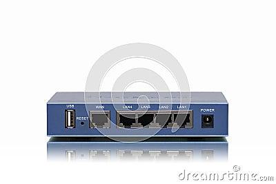 Wan lan router