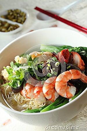 Wan Tan Noodles