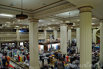 Wanamaker Department Store Editorial Image