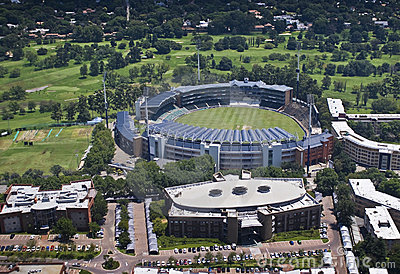 Wanderers Cricket Stadium - Aerial View