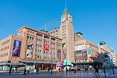 Wangfujing department store Editorial Photography