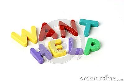 Want help