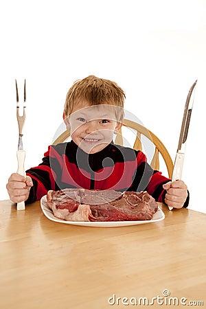 Want steak