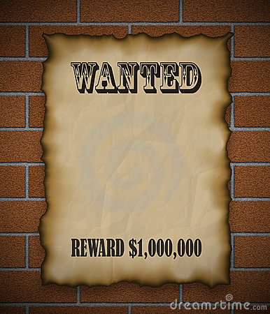 Free Wanted! Stock Photos - 453903