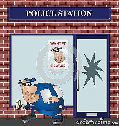 Wanted burglar