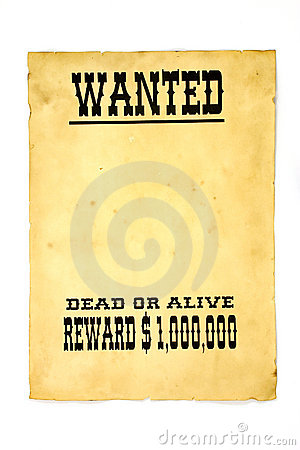 Free Wanted Poster Stock Photo - 610990