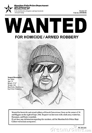 Wanted Poster Royalty Free Stock Photos - Image: 6726898