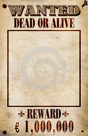 Wanted Poster - Euro Reward