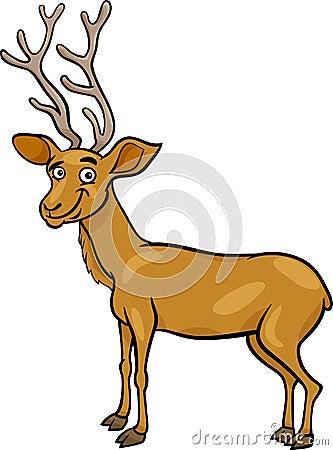 Deer Head Cartoon | New Calendar Template Site