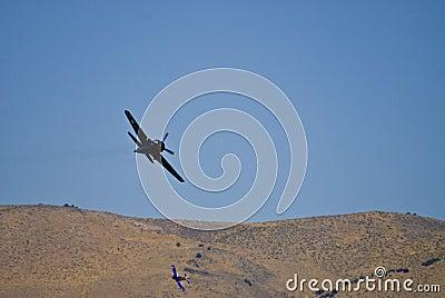 War Birds in Flight